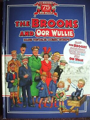 The Broons Oor Wullie 75Th Anniversary 1936 2011 With Cd & Calendar  Hb  Vgc