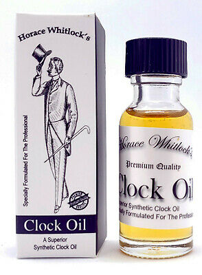 Clock Oil Horace Whitlock's Synthetic Clock Oil - Perfect for any clock