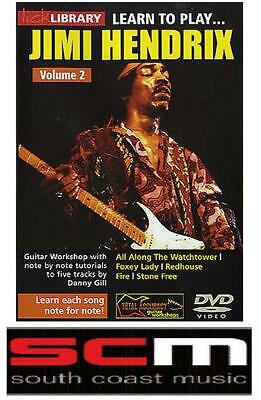 Lick Library Learn To Play Jimi Hendrix Volume 2 Dvd