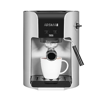 Coffee Machine Ground Coffee 3in1 Maker Milk Frother High Quality 20 Bar 1400W