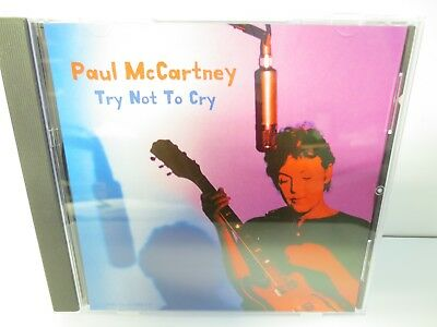 PAUL McCARTNEY ~ TRY NOT TO CRY ~ RARE SINGLE SONG CD ~ 1999 ~ LIKE NEW CD