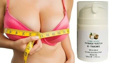 BUST ENHANCEMENT Pueraria Mirifica 50ml Double Concentrated SERUM Body cream