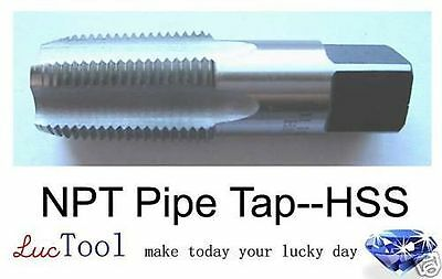 1/16-27 NPT pipe tap, HSS(M2), Brand New, 1/16 NPT tap, 1/16 pipe tap
