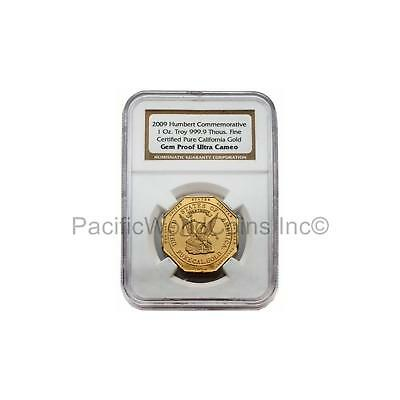 USA 2009 Humbert Commemorative California Gold 1 oz NGC Proof Certified