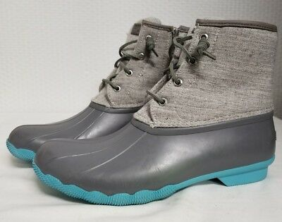 ebe66106832 sperry duck boots womens blue