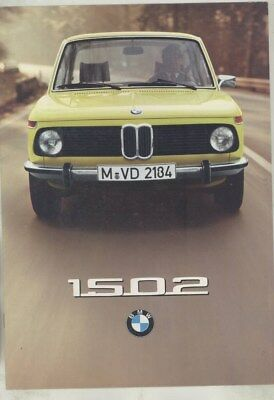 1976 BMW 1502 Brochure German wz0272