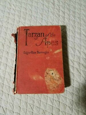 Tarzan of the Apes Edgar Rice Burroughs 1914 Hardcover A. C. McClurg