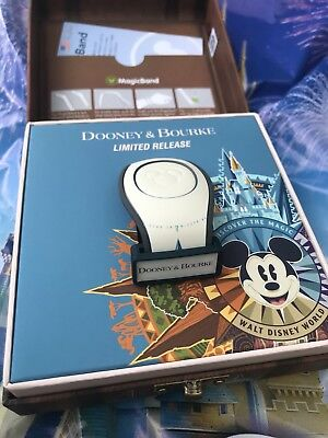 Walt Disney World Dooney And Bourke Magicband Magic Band 2 Suitcase Passport