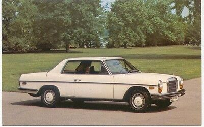 Mercedes Benz 250 Coupe Postcard for the US market Not dated