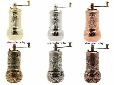 Turkish Pepper Coffee Salt Spice Grinder Mill 4.3' - 11cm - Free Shipping