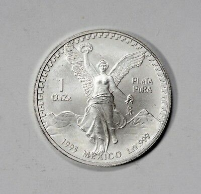 1995 Mexico 1 Onza Silver Troy Ounce