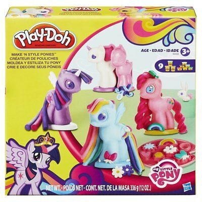 Play Doh My Little Pony Make N Style Ponies Creative Toys Birthday Gift