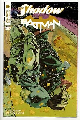 The Shadow Batman #5 - Subscription Variant (DC/Dynamite, 2018) New/Unread (NM)