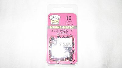 Kadee 10 HO Scale #5 Universal Magne-Matic Metal Couplers 10-pair New in Package