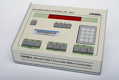 Oriel Encoder Mike Controller 18011, from 1996, with Encoder Mikes avail., VGC