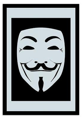 V For Vendetta Mask Mirror Guy Fawkes Anonymous