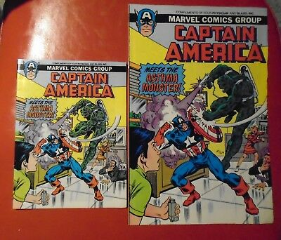 Captain America Meets the Asthma Monster (Marvel Comics)
