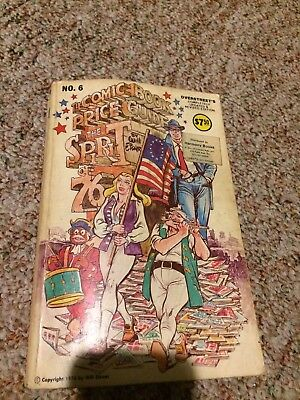 Lot Of 6 Overstreet Comic Book Price Guides - Early Softcovers - #6-11