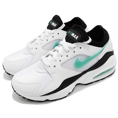 differently b563e 3840c Nike Wmns Air Max 93 OG White Turquiose Dusty Cactus 2018 Women Shoes 307167 -100