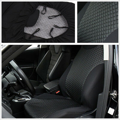 High Back Bucket Car SUV Front Seat Cover Imitated Leather Washable&Breathable