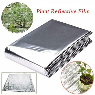 Silver Plant Reflective Wall Garden Film Greenhouse Grow Light Accessories CO