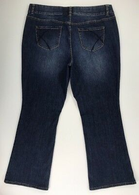 Lane Bryant T3 Tighter Tummy Technology Slimming Bootcut Jeans Plus Size 20