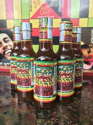 BABA ROOTS HERBAL Energy Drink Tonic 100% All Natural - 5