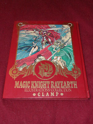 Magic Knight Rayearth Illustrations Collection by Clamp (1995, hardcover)