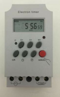 Programmable AC 220V Digital LCD Timer Switch Electronic Control 1Pc NEW