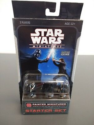 NEW WOTC  2007 Star Wars Miniatures: Starter Set Collectible Game SEALED, RARE