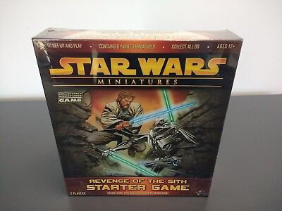 NEW WOTC Star Wars Miniatures Revenge of the Sith Starter Game SEALED