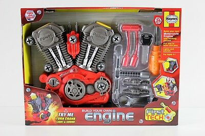 Haynes Build Your Own Motorcycle Engine With Working Pistons 24 pcs