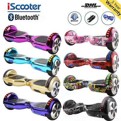 Self Balancing Scooter Electric Scooter Bluetooth Balance Board+Led+Bag+Remote