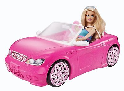 Barbie Glam Convertible Vehicle Car Doll Accessories Toy Birthday Gift BNE Stock