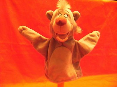 Baloo The Bear Disney's Jungle Book  Hand Puppet 7 Inch Approx