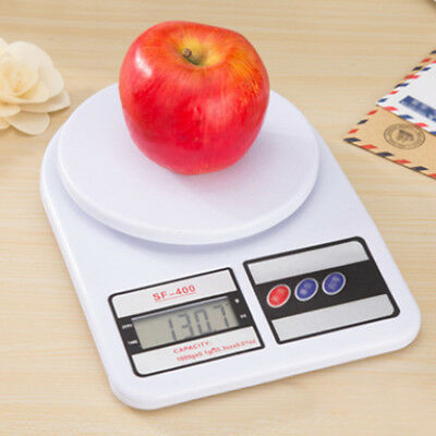 Plastic Digital Electronic Scales LCD Kitchen Postal Postage Parcel Post Office