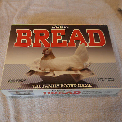 BBC TV's Bread: Family Board Game (Paul Lamond Games 1989) NEW