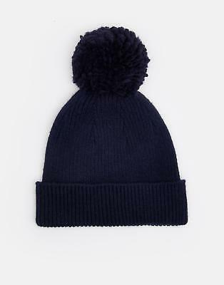 Joules Gracie Chenille Hat in FRENCH NAVY in One Size