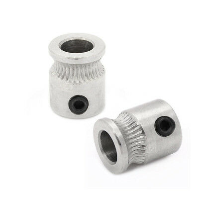 3D-Printer MK7 Stainless Steel Extruder Drive Gear Hobbed Gear For Reprap HOT