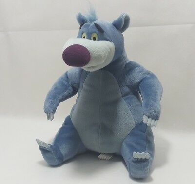 "Walt Disney The Jungle Book - Baloo - 12"" Singing Talking Soft Toy - Hasbro Vgc"