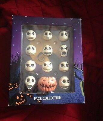 Nightmare Before Christmas (RARE) Jack Skellington Face Collection