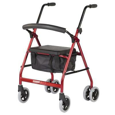 Push Down Wheeled Walker - Lightweight and Height Adjustableer