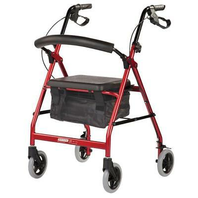 Smooth Glide Wheeled Walker - Lightweight Rollator for Indoor Use