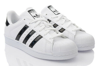 cheaper ef776 b6ee4 ADIDAS SUPERSTAR J FOUNDATION Sneaker Damen Schuhe Turnschuhe Leder  ORIGINALS