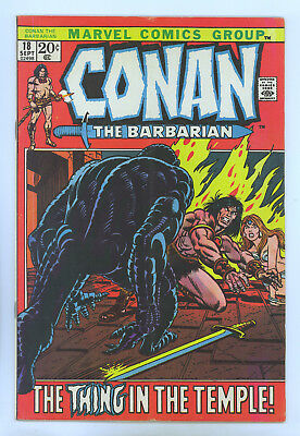 Conan the Barbarian #18 FN- (Looks Better) Gil Kane
