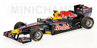 Red Bull Rb7 Sebastian Vettel World Champion 2011 Minichamps 1:43 410110001 Mod.