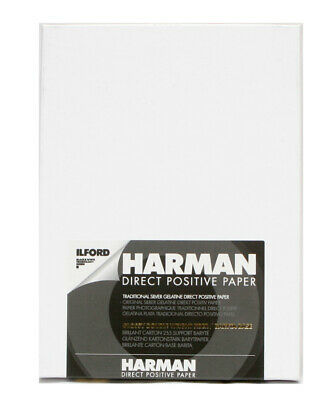 Harman Direct Positive Paper FB 4x5 25 sheets