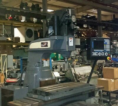 Bridgeport Boss 8 Mill with Fagor CNC 8055 Control (Inv.33096)