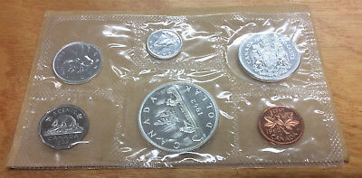 1962 Proof-Like Canadian coin set in Original Cello & Envelope 80% silver