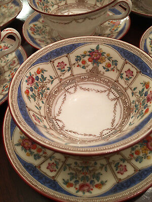 ANTIQUE MINTON CHINA - HAZLEMERE B1279 - CUP/SAUCER SET - PERFECT -8 available -